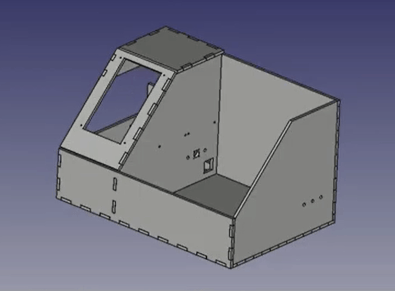 How to create finger joints for laser cutting using FreeCAD's LCInterlocking module (2020)